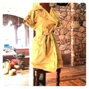 Cabi trench coat style shirt dress